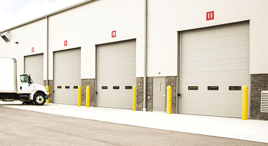 Commercial Sectional Doors in Washington DC Suburbs