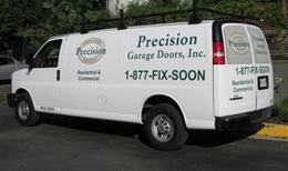 Garage Door Repair Van